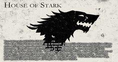 I belong in House Stark!!!
