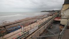 Mid Devon Star: Want to see how Dawlish rail line is being rebuilt? Watch this time lapse video