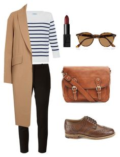 """""""Untitled #8"""" by batoolalharbi on Polyvore featuring HANIA by Anya Cole, Joseph, Alexander Wang, Tricker's, Ray-Ban and NARS Cosmetics"""