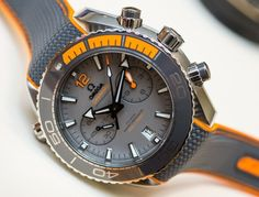 Omega Seamaster Planet Ocean Master Chronometer Chronograph Watches Hands-On Hands-On