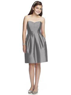 Junior Bridesmaid Style JR528 http://www.dessy.com/dresses/junior-bridesmaid/jr528/
