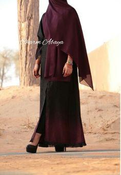 Charm abaya