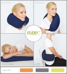 Travel Pillows Soft U Shape Travel Support Pillow Neck Cushion Stress Bead Snug Sleep Massager Easy To Lubricate