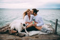 This Pigeon Lake engagement session in Canada channels sexiness and romance with a casual picnic, a playful boudoir moment, and even a skinny dip! Engagement Couple, Engagement Pictures, Engagement Session, Engagements, Couple Photography, Engagement Photography, Pet Photography, Wedding Photography, Lake Dock
