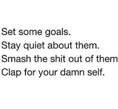 Goals and Ambition | Pinterest: mary*