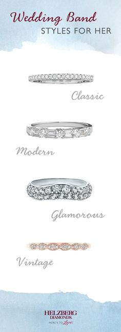 2b4cf2383869a 394 Best Wedding Bands images in 2018 | Halo rings, Perfect wedding ...