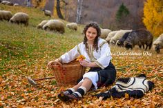 The beautiful, talented, well known and apreciated Angelica Flutur, Romanian folklore singer. Milan Kundera, European Girls, Autumn Day, Folklore, Hiking Boots, Singer, Couple Photos, Ethnic, Beautiful