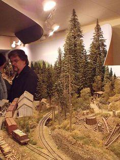 model railroad hobbyist