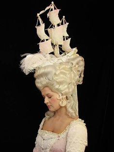 straight up Marie Antoinette, personal history obsession