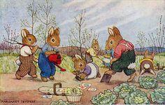 """""""Gardening"""" by Margaret Tempest"""