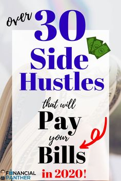 Make 2020 your best year yet financially! Here are over 30 of the BEST side hustles you can use to make money in Pay off debt, go on vacation and make this year your best year Earn Money From Home, Make Money Fast, Free Money, Earn Extra Cash, Extra Money, Money Saving Tips, Money Tips, Money Matters, Money Management