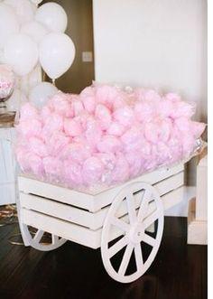 Ideas para fiesta Algodónes de azúcar