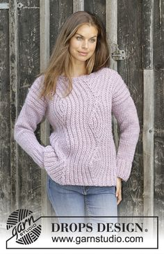 1d067a7e9184 Autumn Blush   DROPS 194-22 - Free knitting patterns by DROPS Design