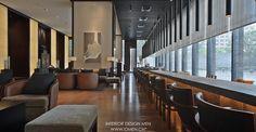 上海璞丽酒店Hotel on Behance Lobby Design, Design Design, Foyer, Restaurant, Table, Furniture, Home Decor, Behance, Shanghai