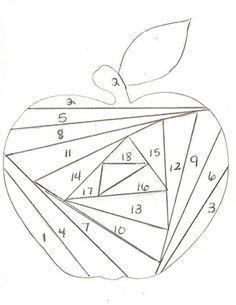 iris folding patterns - Google Search