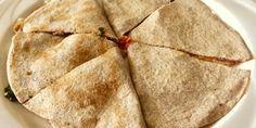 100% plant-based quesadillas! Click for recipe #vegan #daiyacheese #beyondmeat #plantbasedpower #quesadillas
