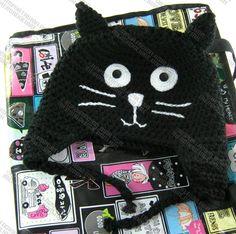 gorras-tejidas-de-gato-estambre-crochet-para-adulto-y-bebe-15677-MLM20106704079_062014-F.jpg (1100×1093)