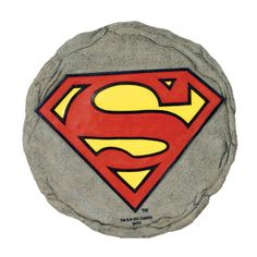 Spoontiques Superman Logo Stepping Stone >>> Additional details at the pin image, click it  : Garden statues