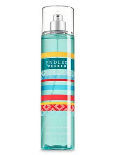 Purchase Bath & Body Works Endless Weekend Fine Fragrance Mist 8 fl oz / 236 ml from Sirzua Stuffs on OpenSky. Share and compare all Womens Body Spray Bath Body Works, Bath N Body, Weekender, Bath And Body Sale, Expensive Perfume, Bath And Body Works Perfume, Bath And Bodyworks, Fragrance Mist, Body Mist