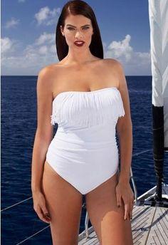 a965afd203e Best 2016 Plus Size Swimwear Xl 2xl 3xl 4xl 5xl One Piece Solid Color  Tassel Bathing Suits Swimming Suits Plus Size Swimsuits European Style  Under  16.21 ...