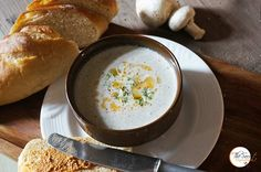 Classic Cream of Mushroom Soup Recipe