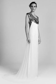 Temperley London Bridal  Spring 2012 Bridal ~ This would be perfect for a Star Wars wedding