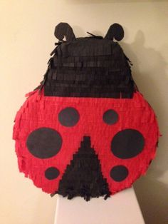 Ladybug Piñata by PinatasPlus on Etsy, $30.00 Add pull-strings for an additional $5. Contact me by Email pinatasplus@gmail.com or on Facebook at www.facebook.com/pinatasplus1