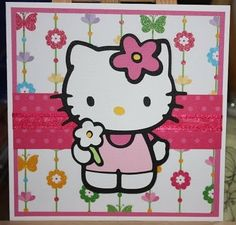 images for Hello Kitty Cricut cartridge | ... la cricut enfin le decoupage avec la cricut ci dessus carte faite avec