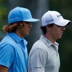 Rory McIlory and Rickie Fowler