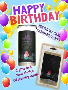 It's my Birthday Month!!! Come celebrate with me! Like my FB & ask me for a coupon code for 25% off!!!  www.facebook.com/AndrealynnBoutique  www.jewelryincandles.com/store/andrealynn