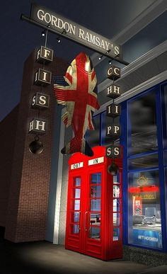 Gordon Ramsay Fish & Chips Set to Open in Las Vegas at The LINQ Promenade in 2015