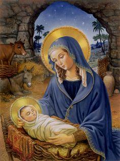 Nativity © Ruth Sanderson
