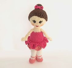 Amigurumi Doll Pattern for Crochet by HerterCrochetDesigns on Etsy, $4.80