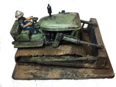 Marine Bulldozer painted by James Marshall Products, Gadget