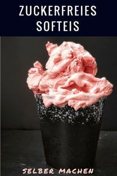 Thermomix Eis ohne Zucker selber machen (Rezept ohne Ei!) . #zuckerfrei #ohnezucker #rezepteohnezucker #eis #eisselbermachen #eisohnezucker #thermomix #tm5