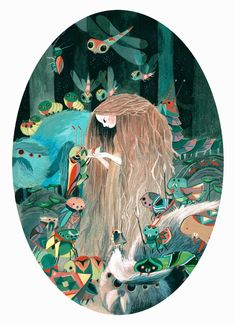 Ssoja by Amelie Flechais  french illustrator.