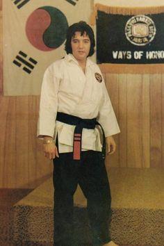 Elvis Presley & The Martial Arts
