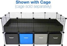 Cage system for piggies
