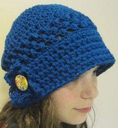 Crochet Pattern Hat Flapper Vintage Lace by APieceOfCrochet, $3.50