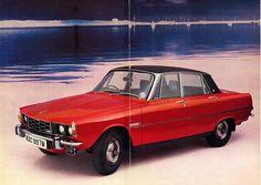 1970 Rover 3500 brochure