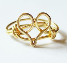 Heart ring -- must make