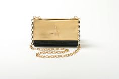The A bag in black and gold