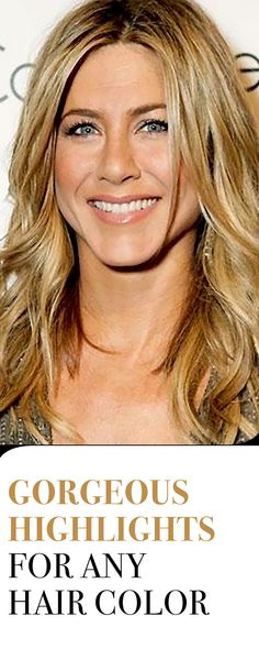 From Jennifer Aniston's golden blonde highlights to Jasmine Tookes's gorgeous caramel strands, these are the most gorgeous highlights for any hair color. Beauty Bar, Beauty Tips, Beauty Hacks, Hair Beauty, Hair Tips, Hair Ideas, Hair Facts, Golden Blonde Highlights, Mane Event