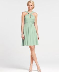 cute bridesmaids dresses! Minty green(: