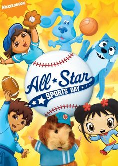 Win It! Nickelodeon Jr. Favorites: All Star Sports Day!
