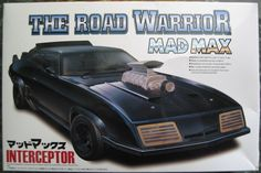 Mad Max The road warrior Interceptor model kit Aoshima Plastic Model Kits, Plastic Models, Mad Max Road, Warrior Movie, The Road Warriors, Home Themes, Plastic Injection Molding, Thing 1, Vintage Models