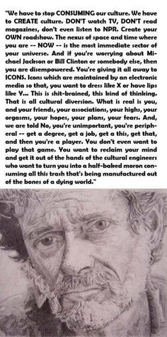 worth reading. Words couldn't be any truer