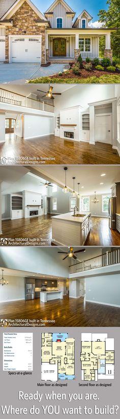 Architecture Design House Plans plan 23252jd: dramatic craftsman house plan | craftsman house