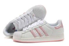 a1a8747a3f2d8 Magazin online de Domnul Adidas Superstar II Alb Roz pantofi A265 Adidas  Classic Shoes