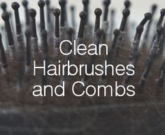 It's super important to keep hairbrushes and combs clean, rather than looking like they've been in a fight with your head. You also don't want them looking like they've been dragged through the mud after you've completely covered them in hair product.